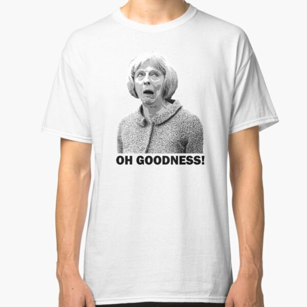Theresa May Swearing - Oh Goodness! (Fields of Wheat) Classic T-Shirt