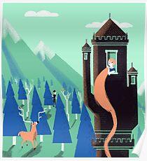 Rapunzel by BabyKarot Poster
