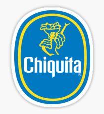 chiquita banana sticker Sticker