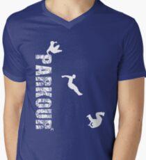 Parkour - urban traceur Men's V-Neck T-Shirt