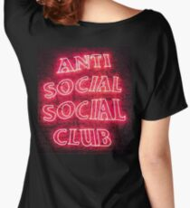 AntiSocial Women's Relaxed Fit T-Shirt