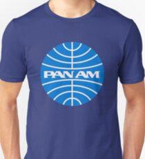 Camiseta ajustada Vintage Pan Am Airlines años 1970
