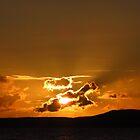 Kintyre Sunset by wiggyofipswich