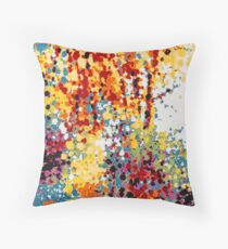 Colorful Nature Throw Pillow