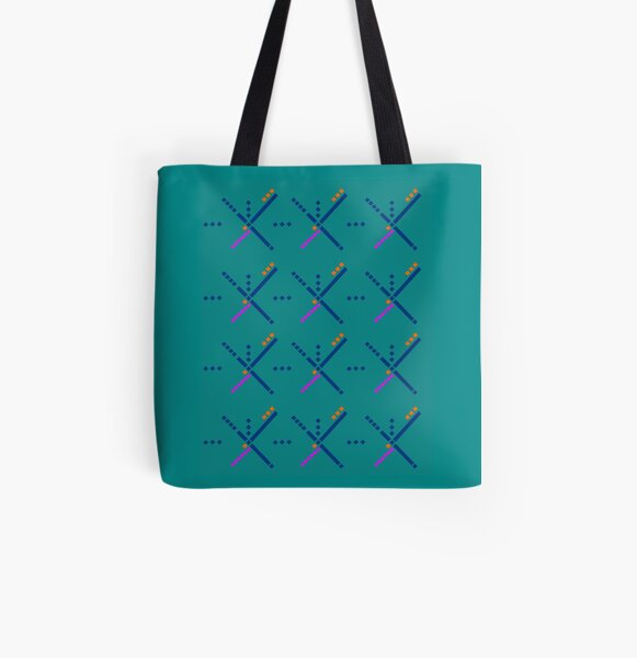 PDX Portland Airport Carpet All Over Print Tote Bag