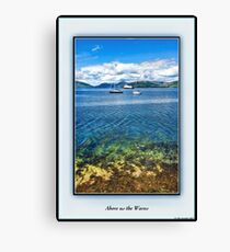 Above us the Waves Canvas Print