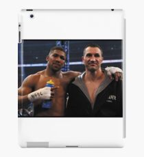 Anthony Joshua vs Wladimir Klitschko iPad Case/Skin