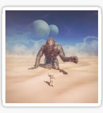 Wandering in the Desert Sticker