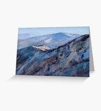 First Light Mount Buller Greeting Card