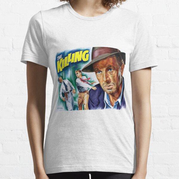 "Stanley Kubrick ""The Killing"" movieposter - Sterling Hayden portrait Essential T-Shirt"