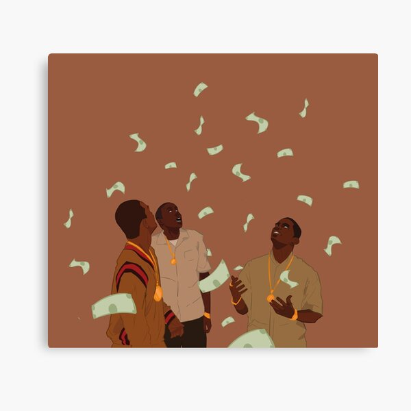 Paid in Full limited Canvas Print