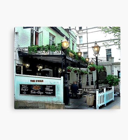 Fish & Chips Canvas Print