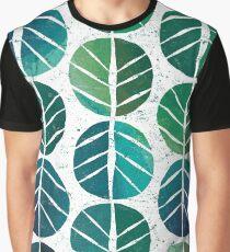 i love Green Leaf Graphic T-Shirt