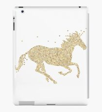 Gold Heart Unicorn iPad Case/Skin
