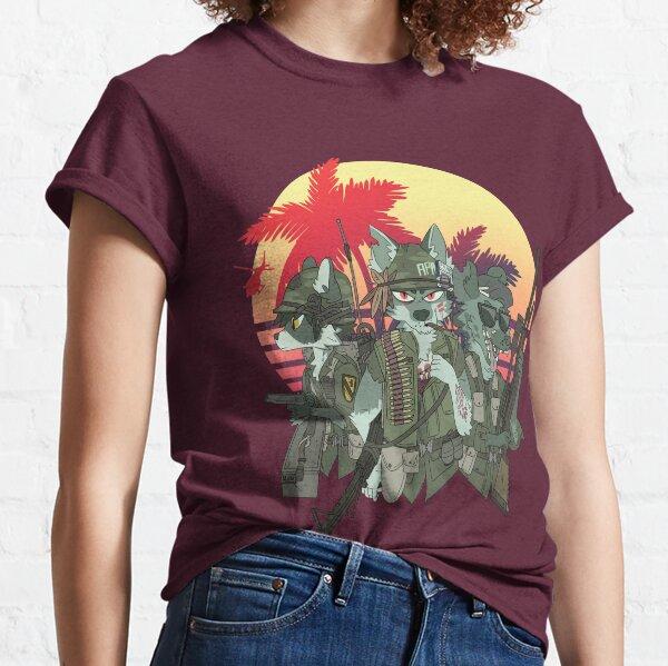 mais ils hurlent jusqu'au dernier morceau de croquette T-shirt classique