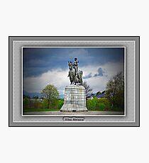 Robert the Bruce. Photographic Print