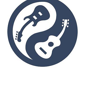 Yin and Yang Guitars by absha2018