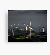 Altamont Wind Chill Canvas Print