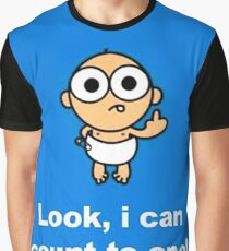 Look I Can Count To Once Graphic T-Shirt