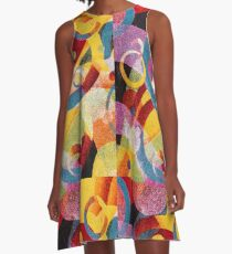 Cosmic A-Line Dress