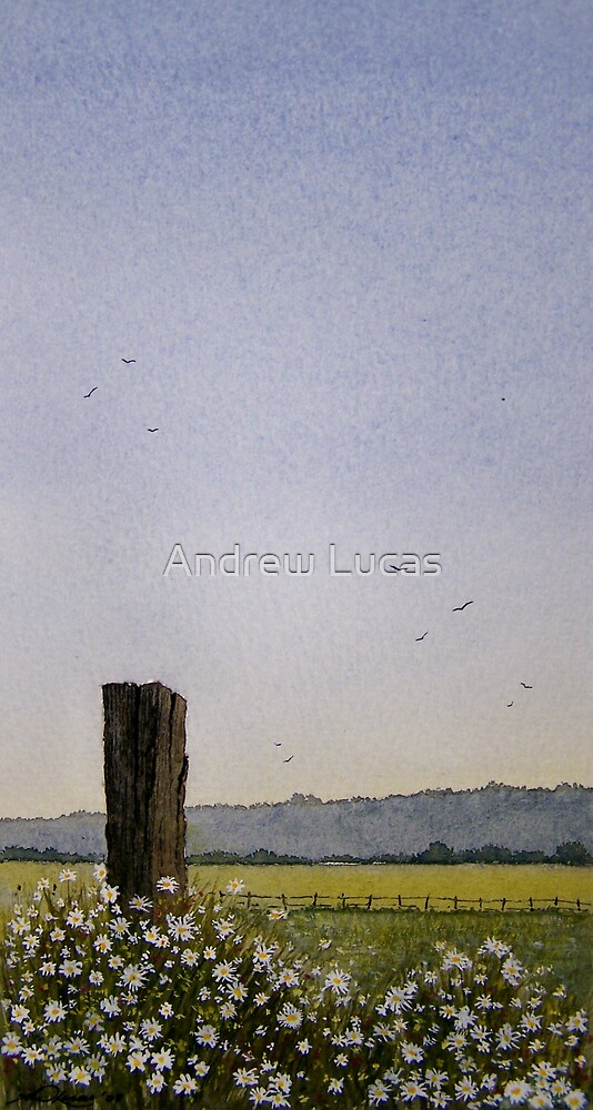 """"""" The old gatepost """" by Andrew Lucas"""