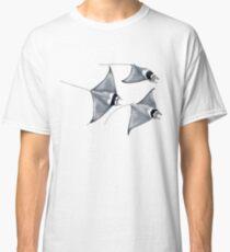 Devil fish - Manta ray (Mobula mobular) Classic T-Shirt