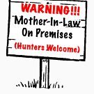 Mother-In-Law Tee by Darlene Ruhs