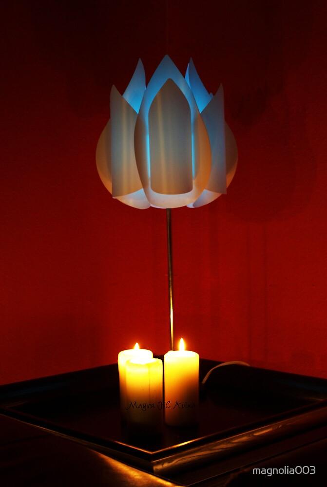 Blue light  by magnolia003