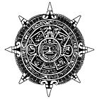 Mesoamerica - Aztec Calendar by Piotr Dulski