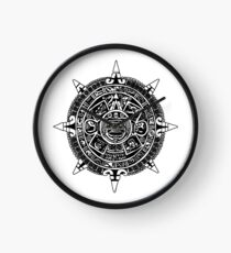 Mesoamerica - Aztec Calendar Clock
