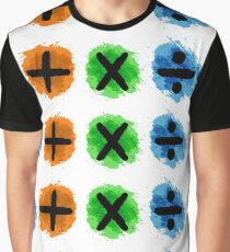 Plus Multiply Divide Album Watercolor Graphic T-Shirt