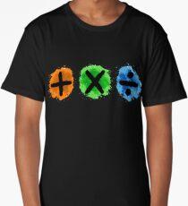 Plus Multiply Divide Album Watercolor Long T-Shirt