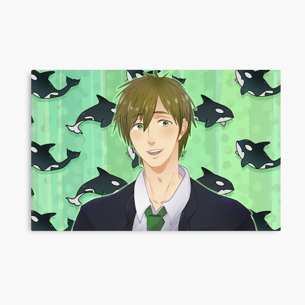 Makoto Tachibana From Free Iwatobi Swim Club Poster By Pandepon