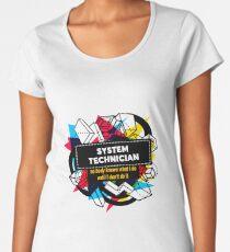 SYSTEM TECHNICIAN Women's Premium T-Shirt
