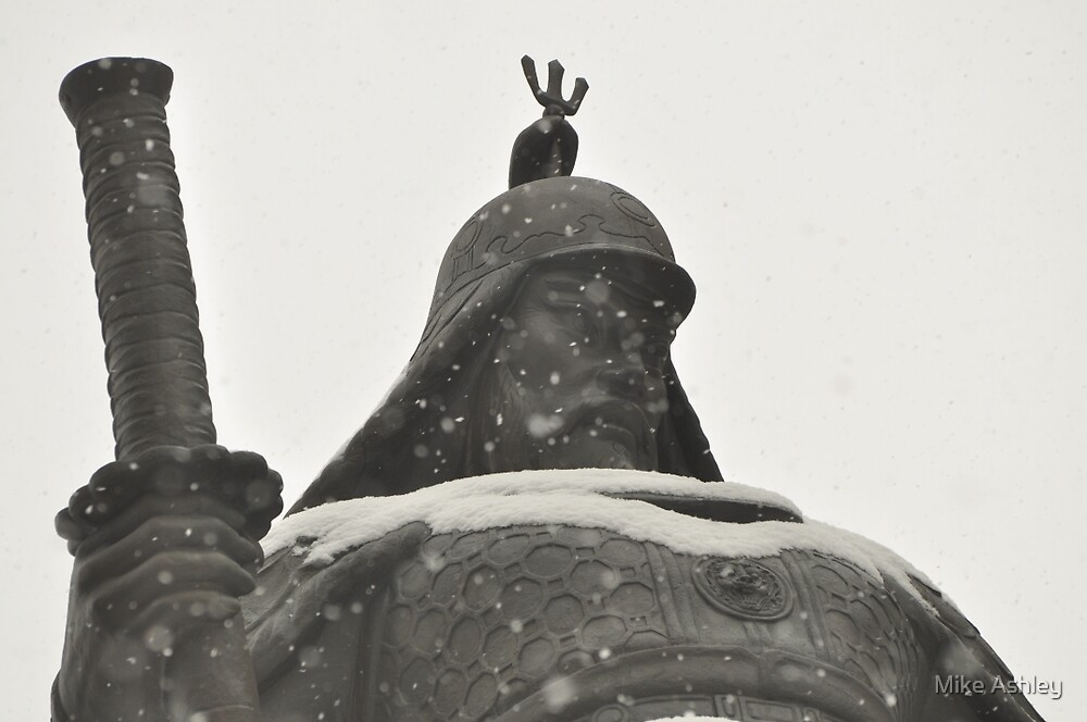 Admiral Lee Shin Covered in Snow by Christian Eccleston