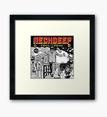 Peace and the panic Framed Print