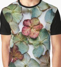 Hydrangea Petals no. 2 Graphic T-Shirt
