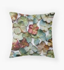 Hydrangea Petals no. 2 Throw Pillow