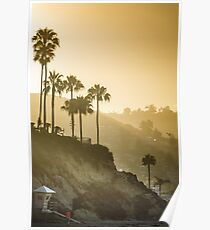 Laguna Beach at Sunrise Poster