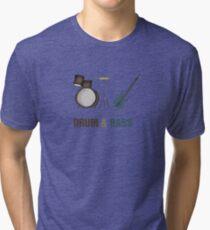 Drum and Bass Tri-blend T-Shirt