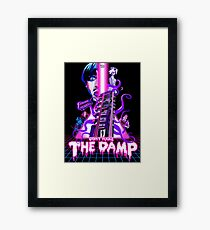 Don't Wake The Damp Sci Fi Poster Framed Print