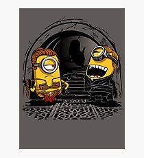 Despicable Twins Photographic Print