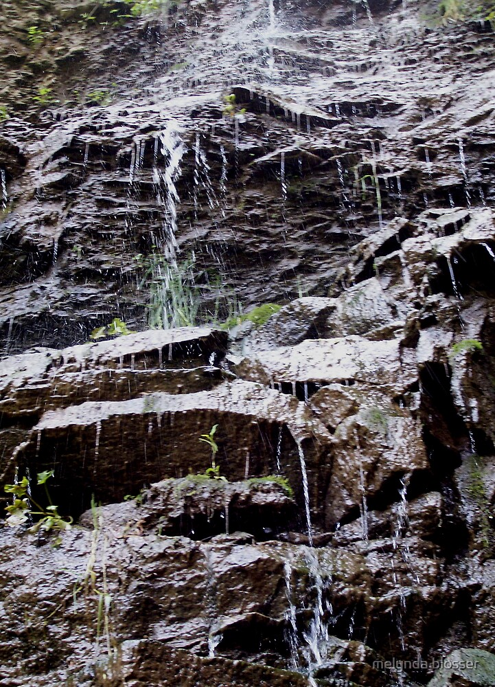 semi water fall by melynda blosser