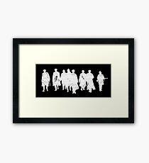Peaky Blinders - white gang Framed Print