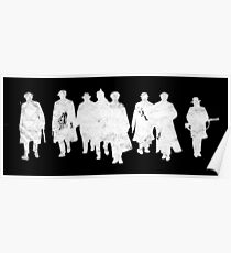 Peaky Blinders - white gang Poster