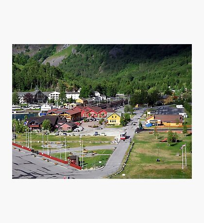 The Tiny Town of Flaam Photographic Print