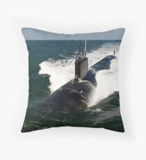 The Virginia-class attack submarine USS California. Throw Pillow