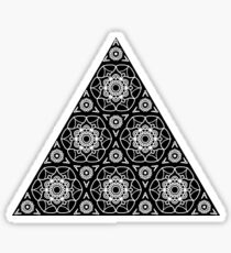 Triangle Tessellations Small Sticker