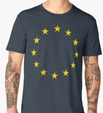 EU, European, Remainers, STARS, Flag, Euro, Flag of Europe, European Union, Flag, Brussels Men's Premium T-Shirt