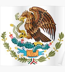 Coat of Arms of Mexico Poster